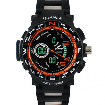 Часы наручные 1711 QUAMER, sport, браслет