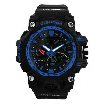 Часы наручные G-SHOCK GW-3000 Black-Blue, BOX