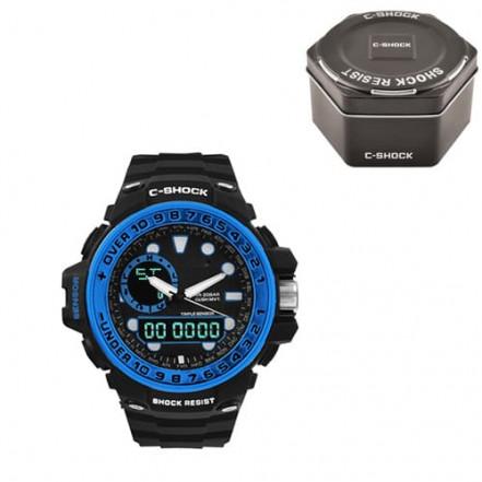 Часы наручные G-SHOCK GWN-1000GB Black-Blue, Box