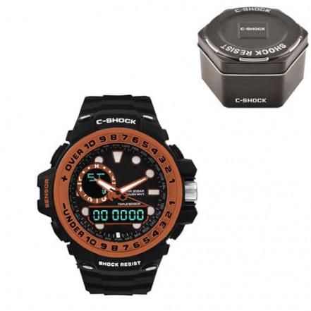 Часы наручные G-SHOCK GWN-1000GB Black-Orange, Box