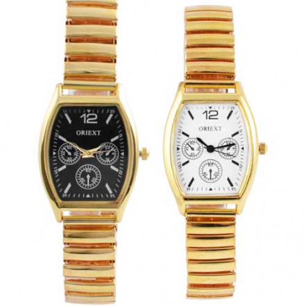 Часы наручные 4402 женские квадрат золото