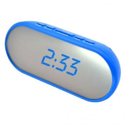 Часы сетевые VST-712Y-5, синие, USB