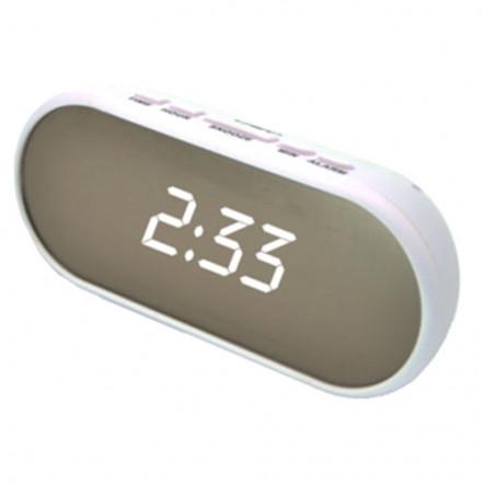 Часы сетевые VST-712Y-6, белые, USB