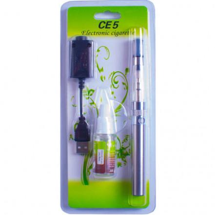 Электронная сигарета CE-5 + жидкость 609-30 (блистерная упаковка)