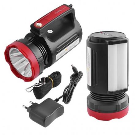 Фонарь переносной Luxury 2895U-5W+20SMD, ЗУ 220V, встроенный аккумулятор, power bank