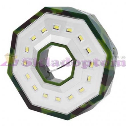 Фонарь кемпинг BL-983-16SMD, петля для подвеса, магнит, 3xAA