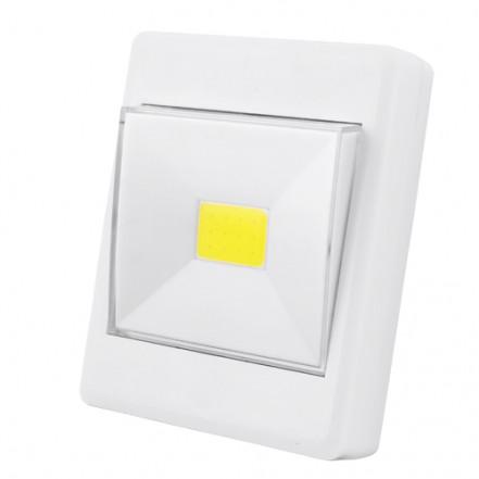 Подсветка универсальная в виде выключателя KL1701 COB+магнит
