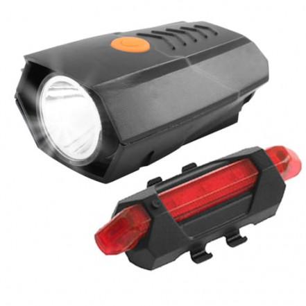 Велокопмлект BSK-178-1-XPG +STOP-5SMD, аккум., ЗУ micro USB
