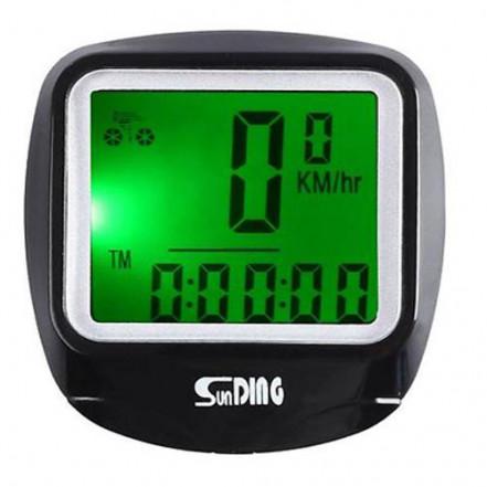 Велокомпьютер SD-568 с подсветкой экрана,waterproof