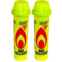 Газ для заправки зажигалок желтый