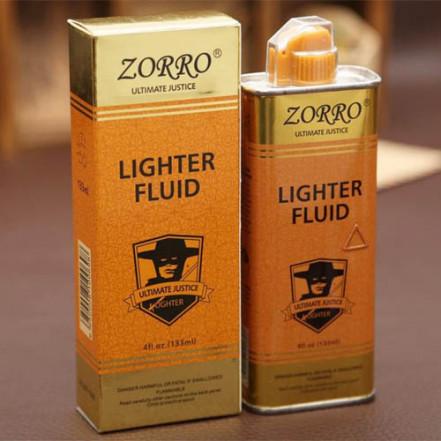 Бензин для заправки зажигалок ZORRO Gold 133ml