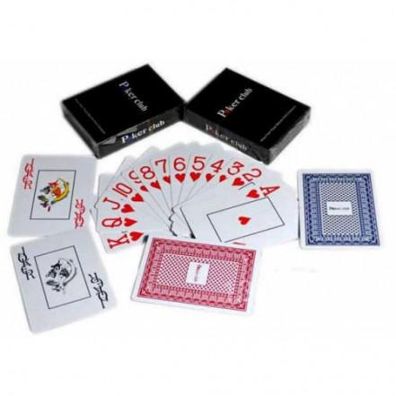 Карты игральные пластиковые «Poker Club» 25395-3