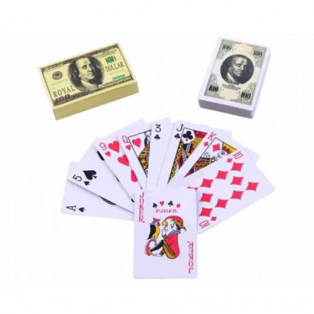 Карты игральные c атласным покрытием Доллар 373-2