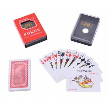 Карты игральные пластиковые poker 395-3