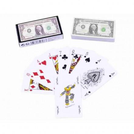 Карты игральные Один Доллар (54 карты) 395-6