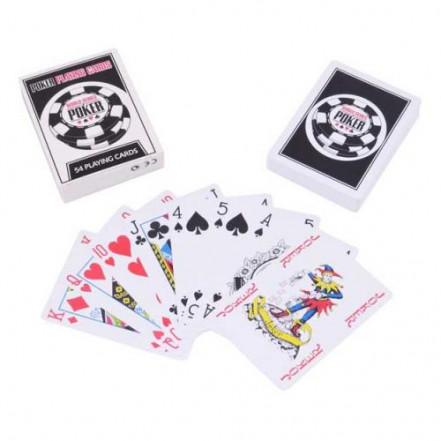 Карты пластиковые Poker (54 шт) 408-30-3