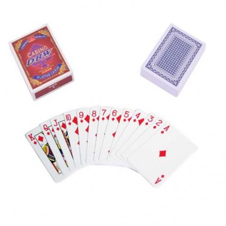 Карты пластиковые Casino DBW (54 шт) 408-30-2