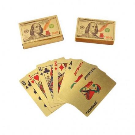 Карты пластиковые Dollar Gold (54 шт) 408-5