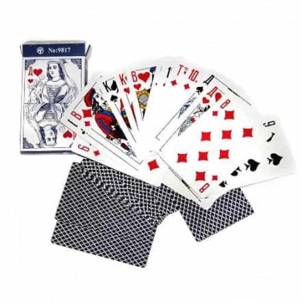 Карты игральные Дама голубая 9817 (36 шт)