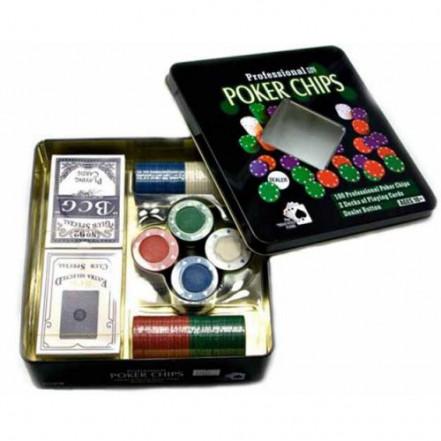 Покерный набор 100T-2