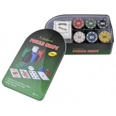 Покерный набор 120T-X