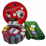 Покерные наборы и рулетки