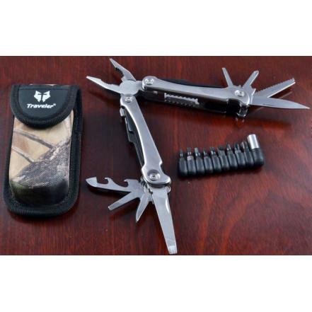 Нож многофункциональный (мультитул) Traveler MT-832 оптом в Украине