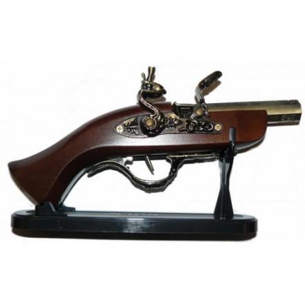 Сувенирная зажигалка мушкет 1658