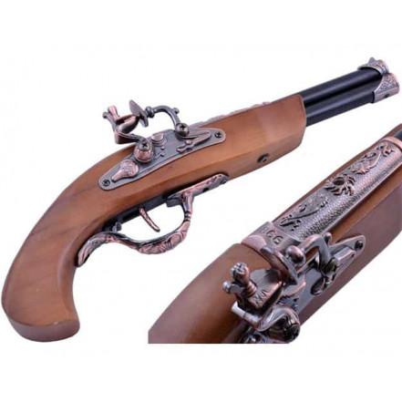 Сувенирная зажигалка мушкет 1770