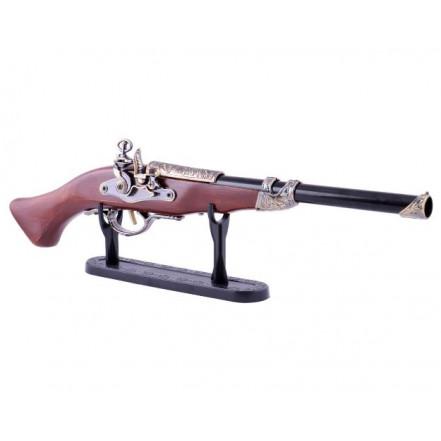 Сувенирная зажигалка мушкет 4419