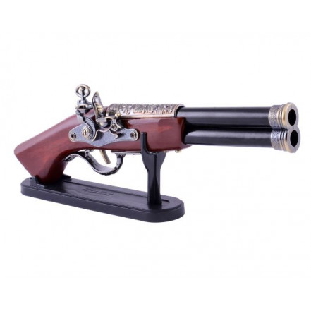 Сувенирная зажигалка мушкет 4420