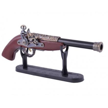 Сувенирная зажигалка мушкет 4421