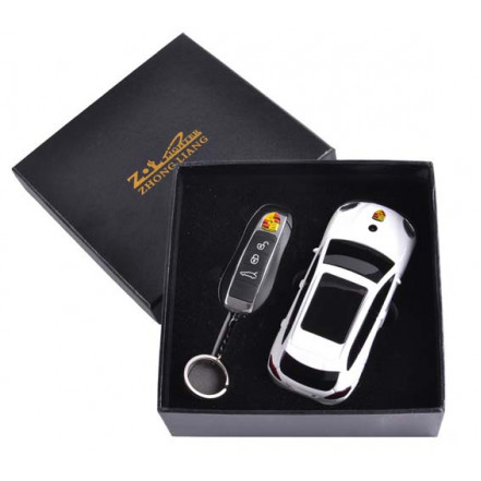 Сувенирная зажигалка + зажигалка-брелок Porsche Cayenne 4426 *