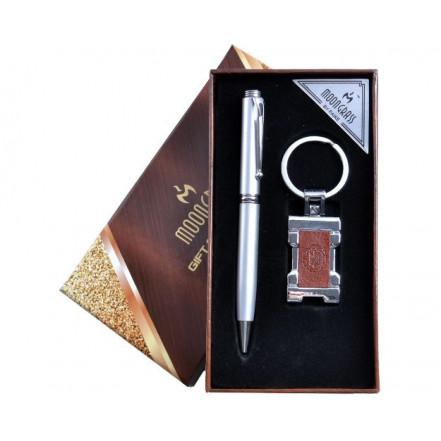 Подарочный набор 2в1 Герб Украины A 1-3 (Ручка, Брелок)