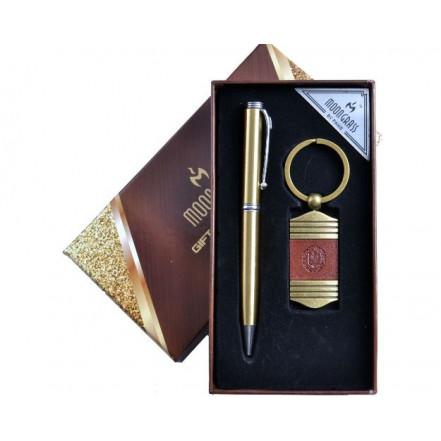 Подарочный набор 2в1 Герб Украины A 2-1 (Ручка, Брелок)