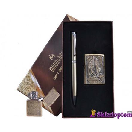 Подарочный набор ручка, зажигалка AL-307