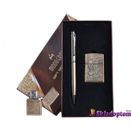 Подарочный набор ручка, зажигалка AL-306-2