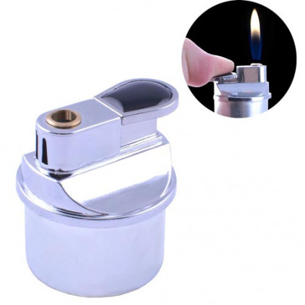 Зажигалка настольная Honest HL-17 Silver *