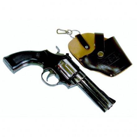 Зажигалка пистолет с кобурой 1619 PYTHON 357