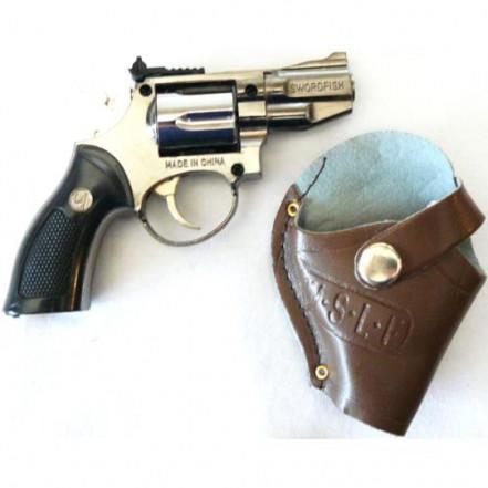 Зажигалка пистолет с кобурой 3851