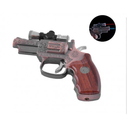 Зажигалка пистолет 3936 Револьвер
