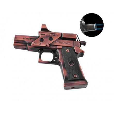 Зажигалка пистолет 4048 Deshan