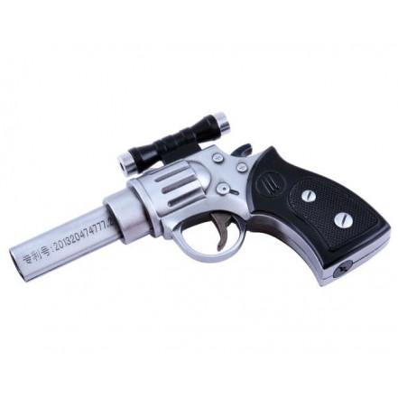 Зажигалка пистолет 4428 (с лазером)