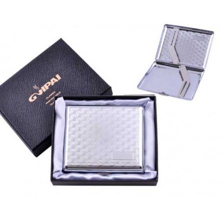 Портсигар классический на 20 сигарет в подарочной коробке HL-4375-2