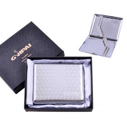 Портсигар классический на 20 сигарет в подарочной коробке HL-4375-5