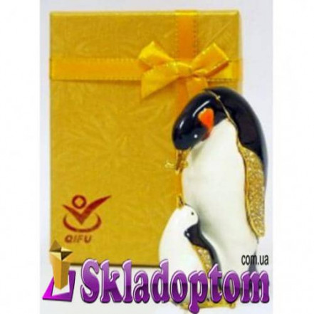 Шкатулка Пингвин QF2768-2