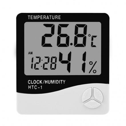 Термометр с гигрометром HTC-1, 2-й сорт
