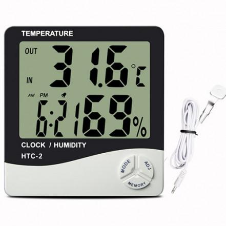 Термометр с гигрометром HTC-2