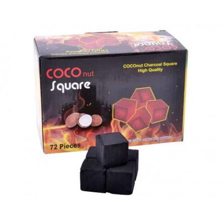 Уголь кокосовый для кальяна Coco Square ( 72 куб)