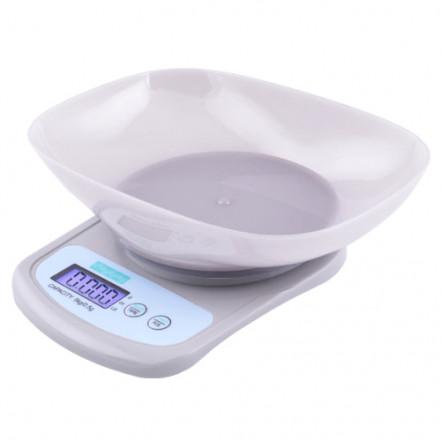 Весы кухонные QZ-156A, 5кг (0.5г), чаша